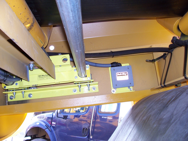 Belt-Way Scale on Extec Crusher