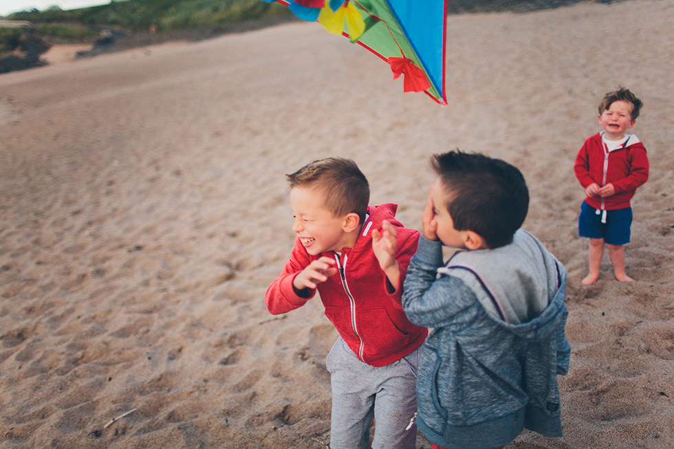 Will is upset because the kite did not hit him on the head, it only chose his brothers. This caused him offence.