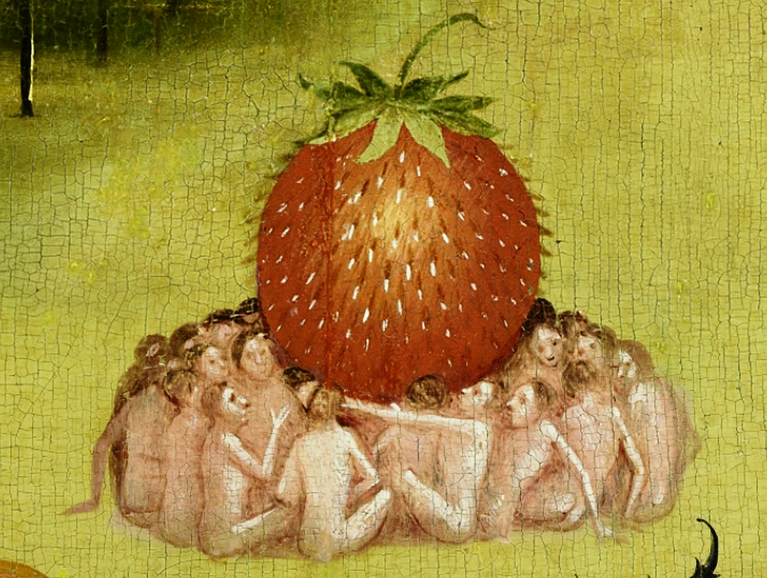 The Garden of Earthly Delights,   Hieronymus Bosch , fragment