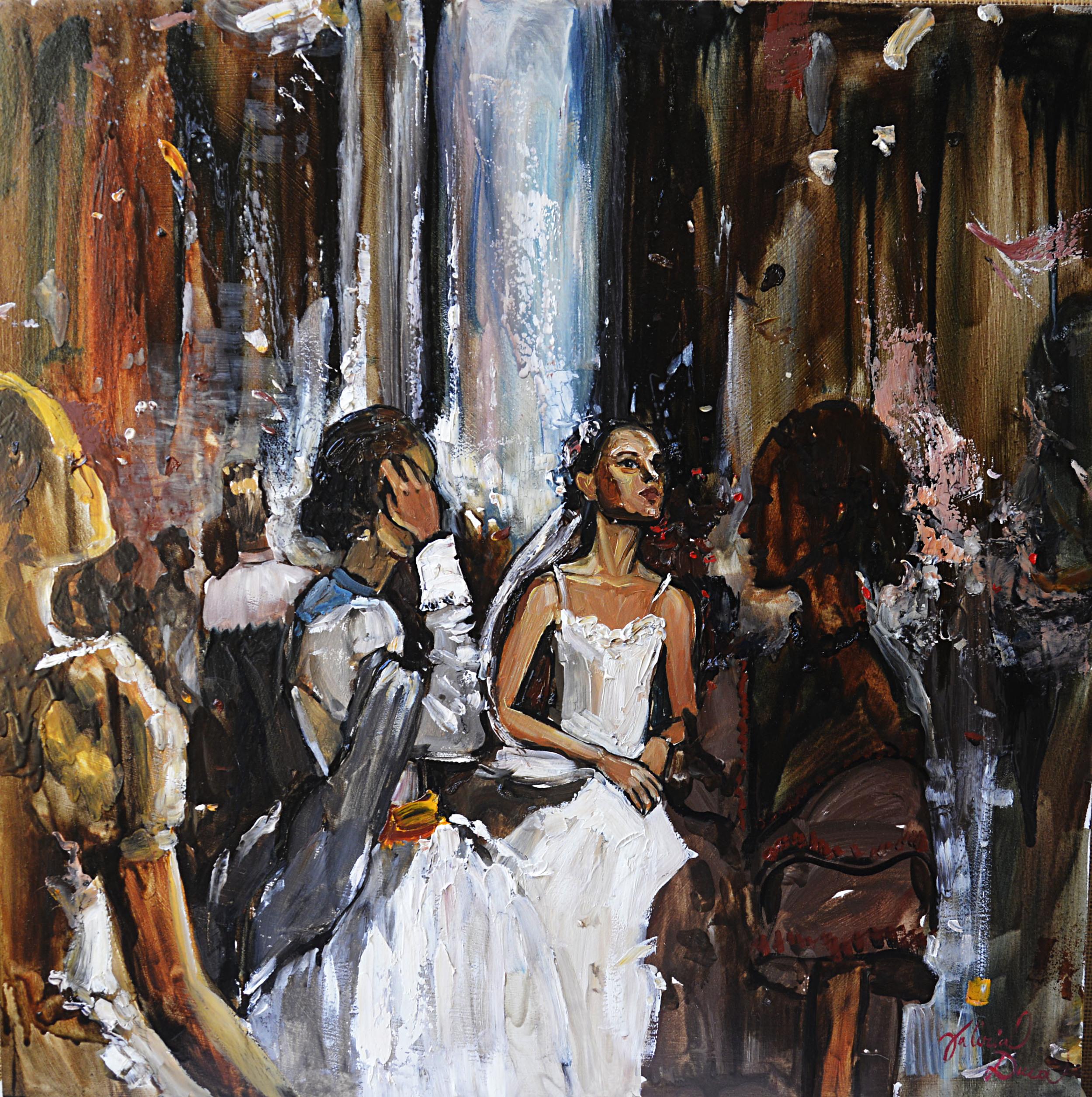 Ballet. Bridal Composition