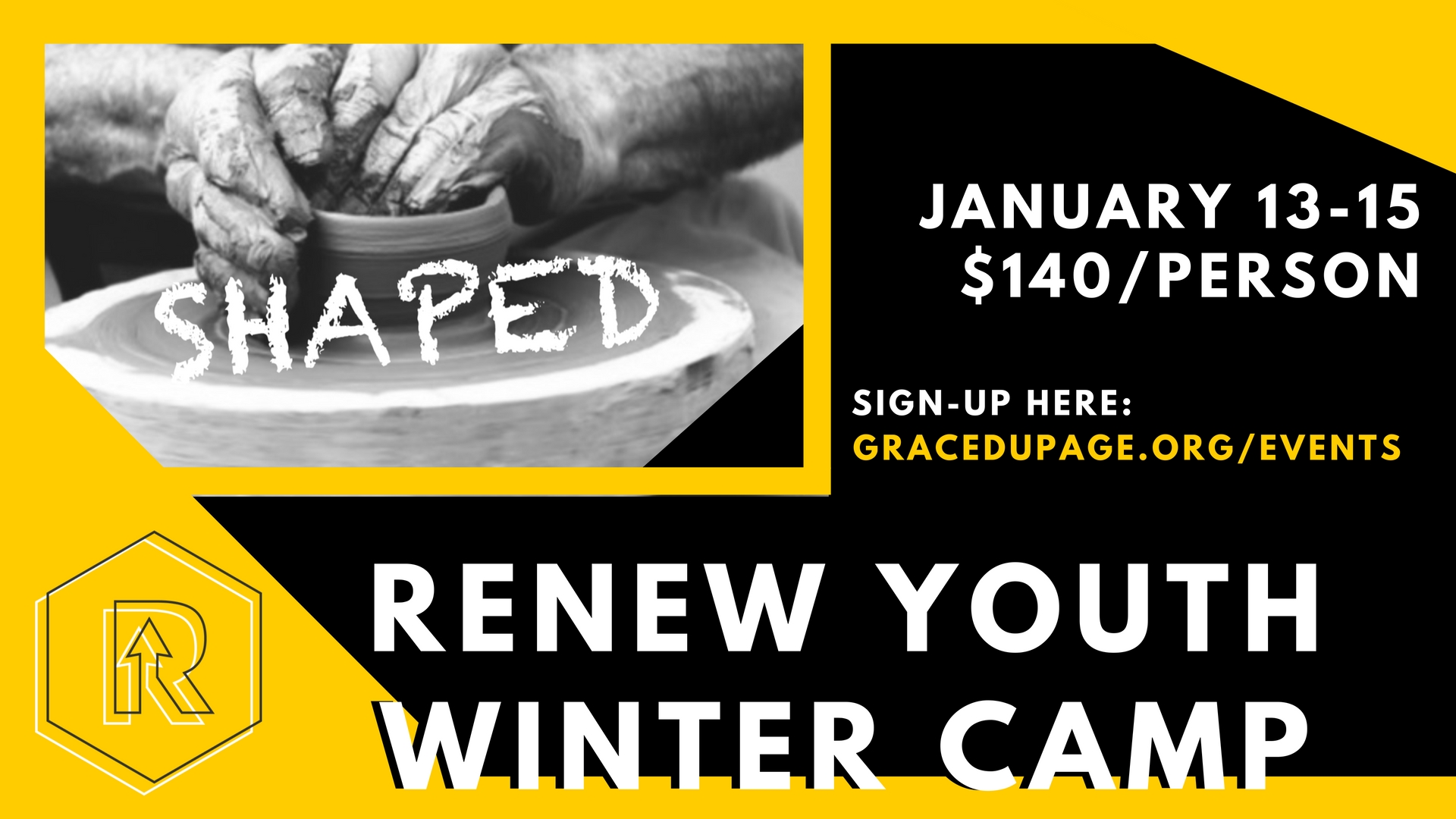 Join us for our annual Winter Camp! We're headed to Wisconsin for a weekend of snow, fun, and studying God's Word. The cost is $140 per person and the dates are January 13th - Jan 15th. All Middle School and High School Students are invited. You can sign up by clicking the button below!