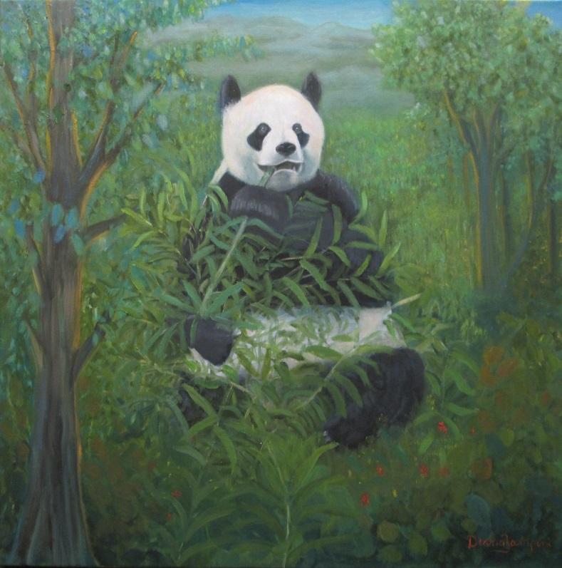 Panda Bear by Diana Zampini