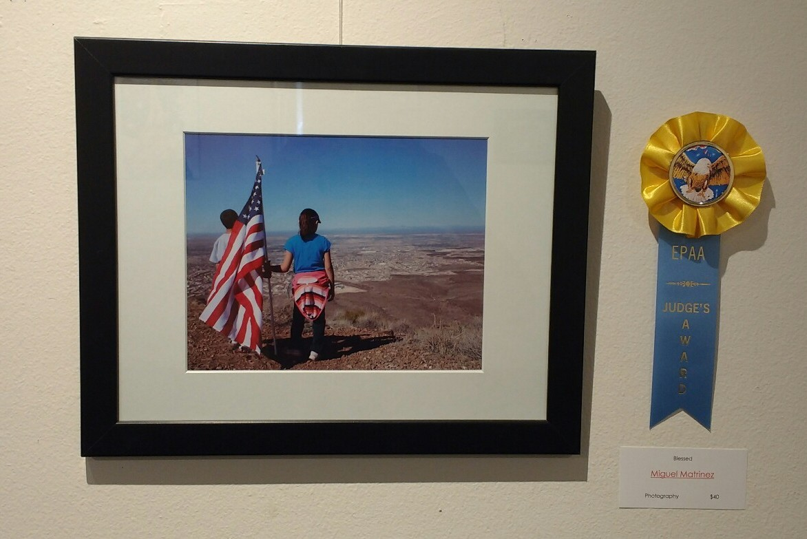 Blessed. Photograpy by Miguel Martinez. Judge's award