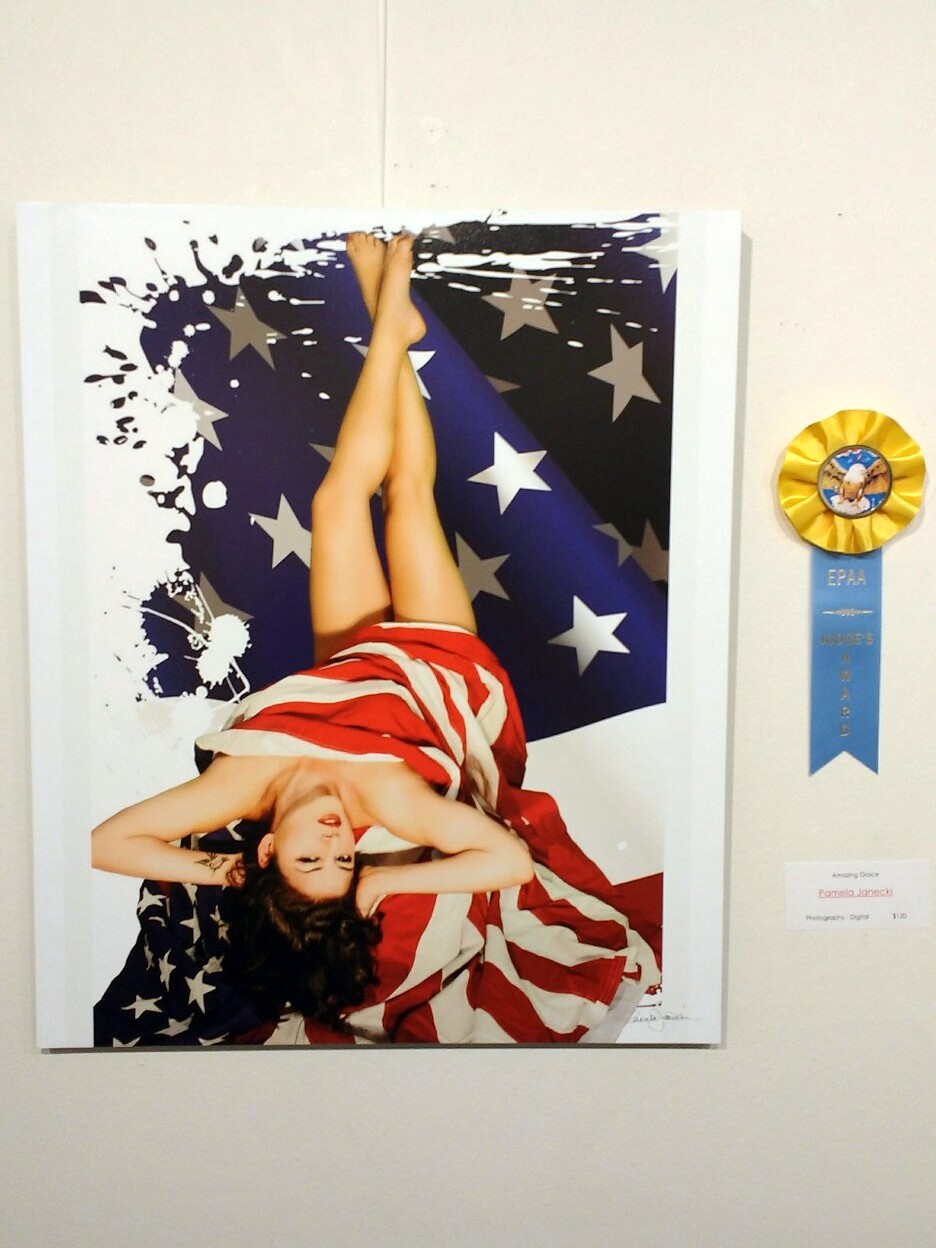 Amazing Grace by Pamela Janecki. Judge's award