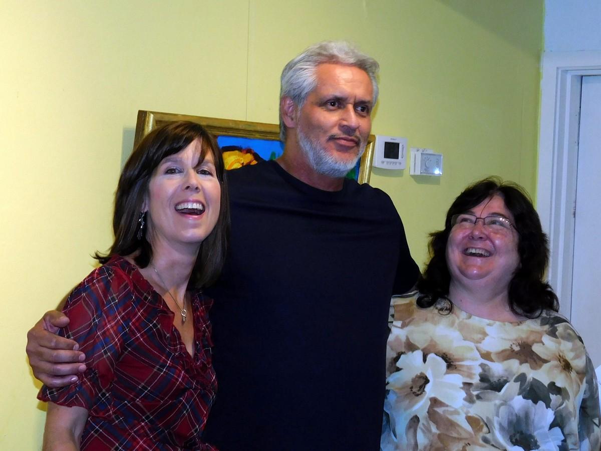 Robert Dozal with Karla and Dorian