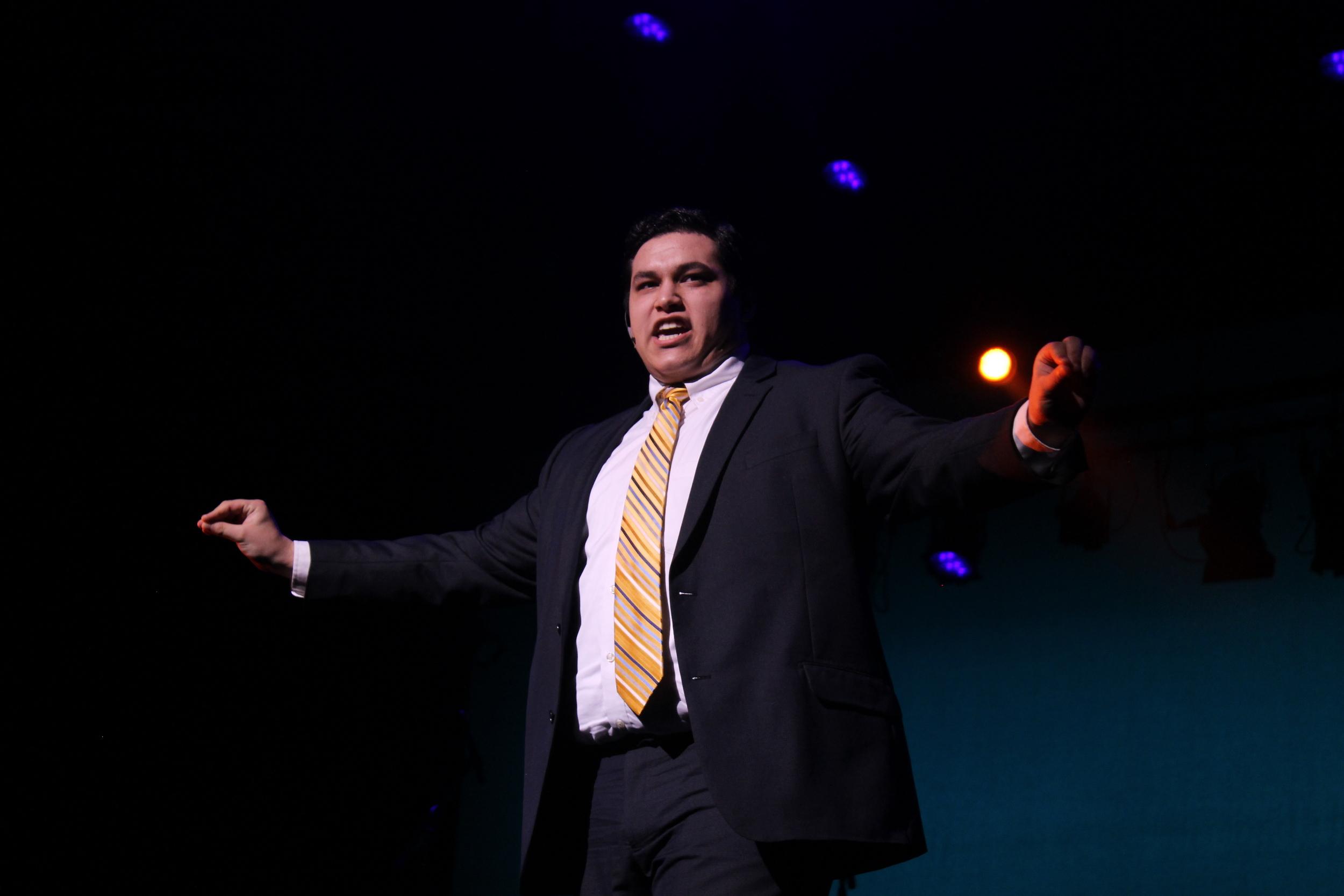 Winner Isaac Lopez's performance