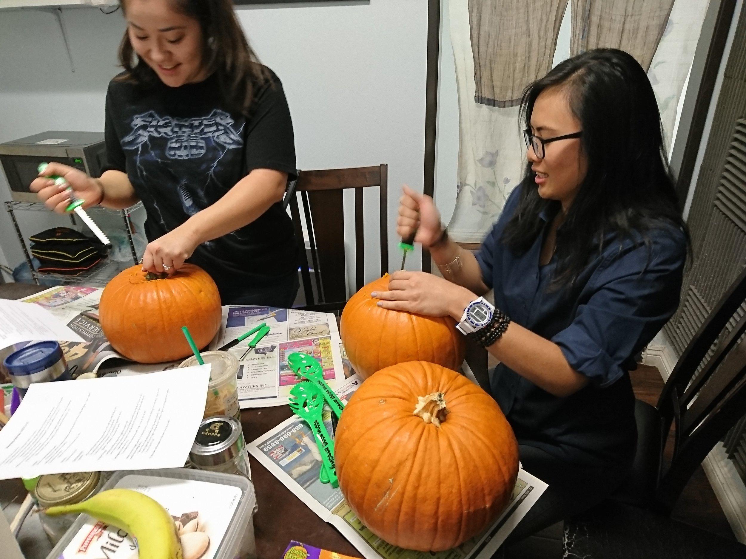 Serenity Pumpkin Carving