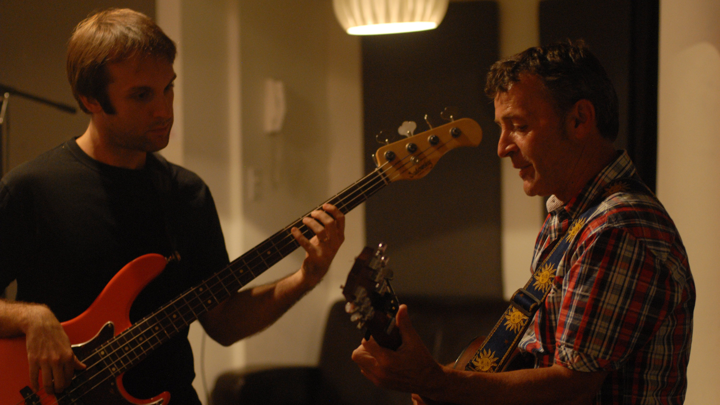 With Darren Lipper - bass