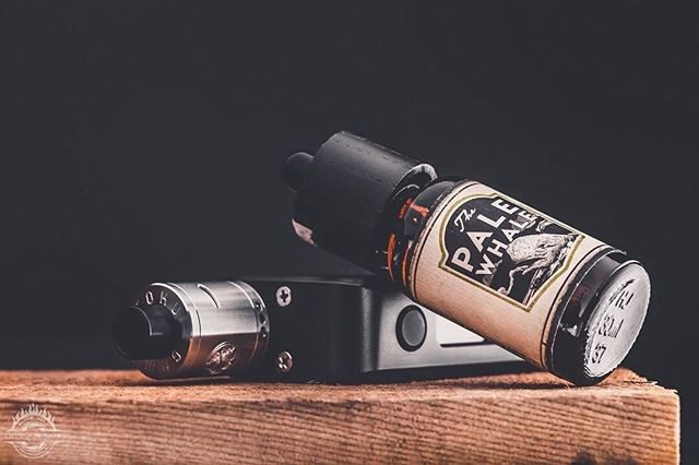 @vappix for Pale Whale. End your night with Last Light: A mixture of creamy milk, bold nut flavors, and traces of mixed fruit. 