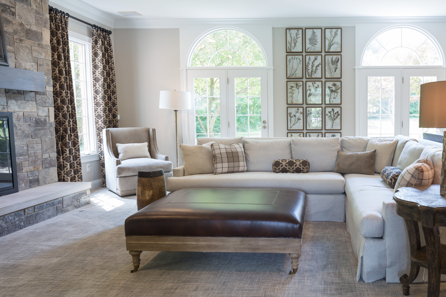 Dovetail Group Living Room Remodel