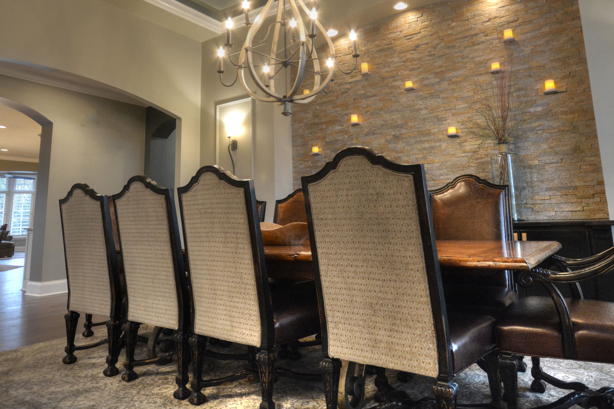 Dovetail Group Indianapolis Dining Room Remodel