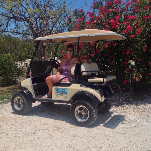 Green Turtle Cay's Pickleball Ambassador - Caroljean