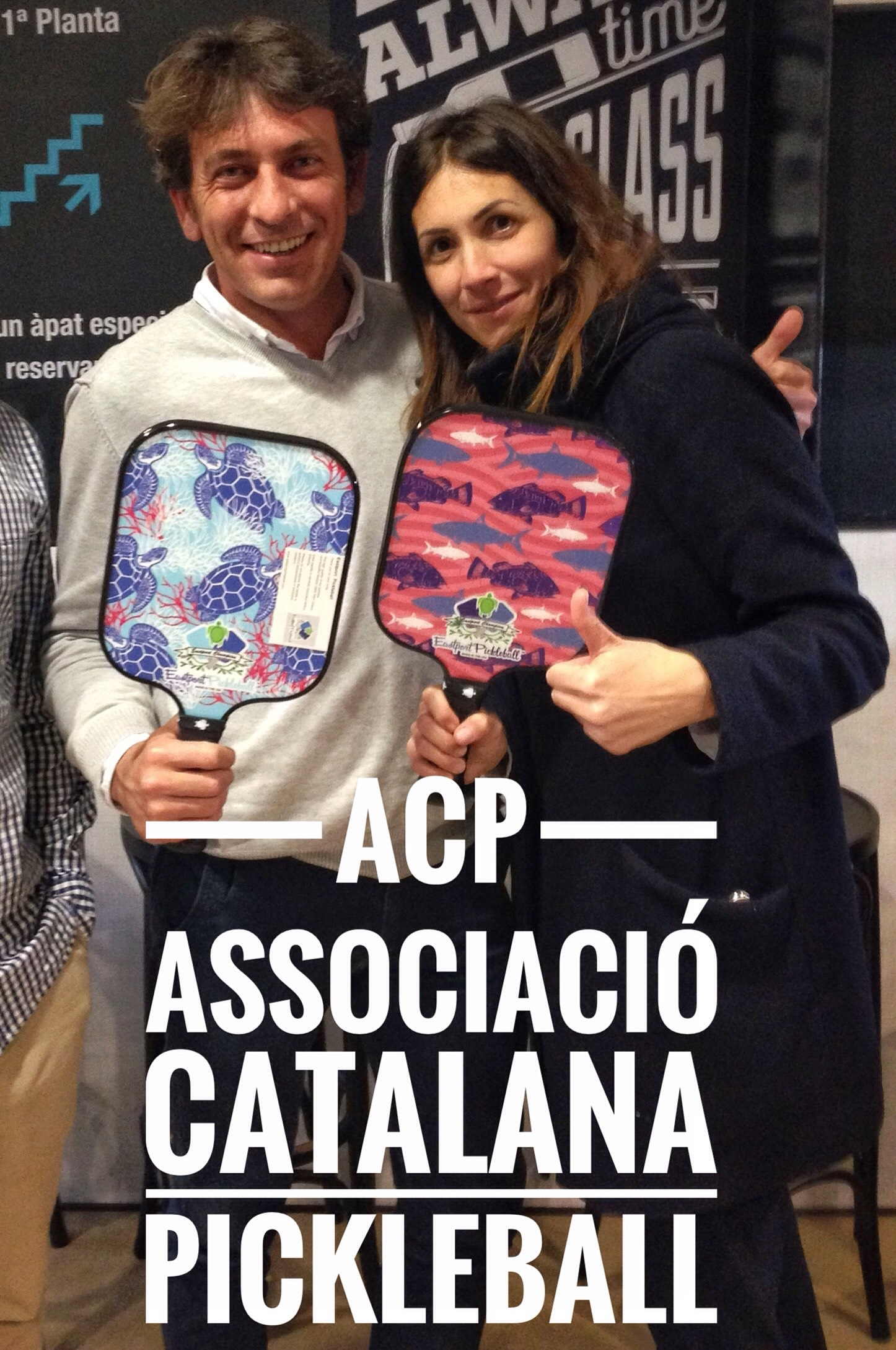 Best of luck to the pickleball club in Barcelona