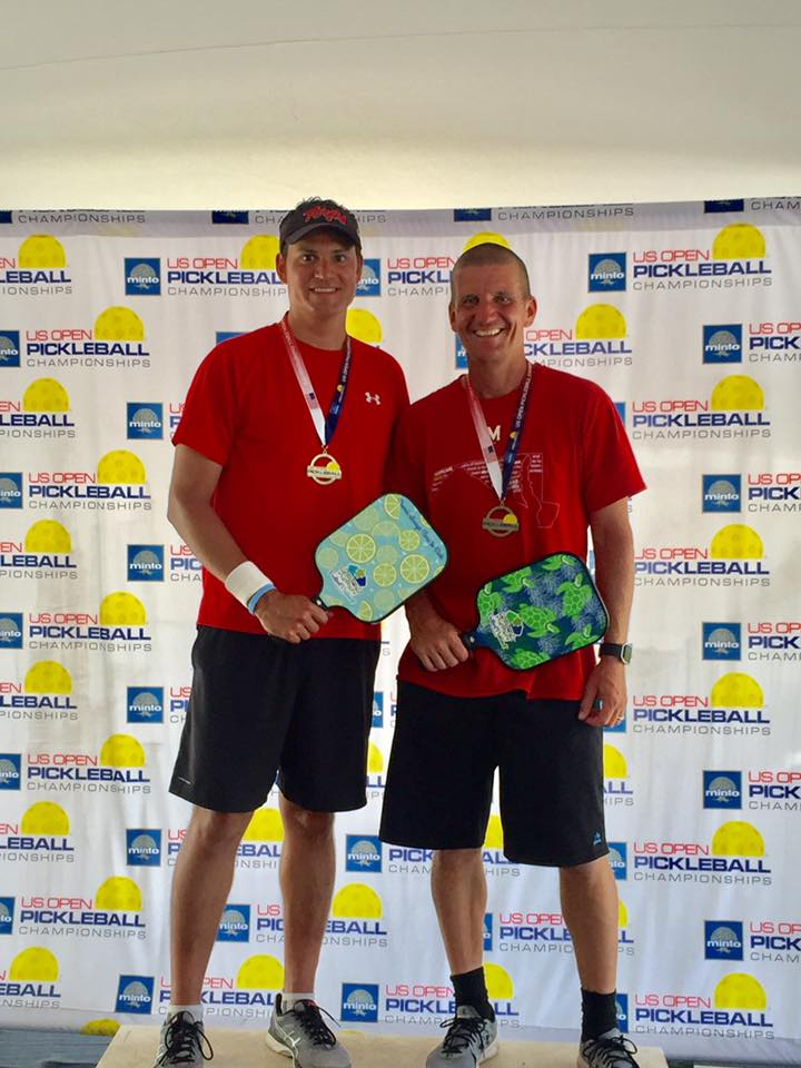 US OPEN PICKLEBALL CHAMPIONSHIPS - NAPLES FL 2017 - JOHN MOHEYER & ERIC WHITE