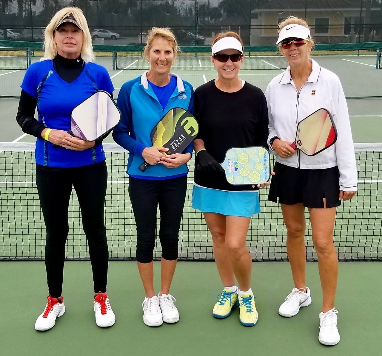Go Mary Go! - Mary Kozlowski wins Silver at the 4.0 Tournament in The Villages this week, January 13, 2019. Mary is amazing. She started playing with our paddle 3 years ago and hasn't stopped. We love The Villages and Mary.