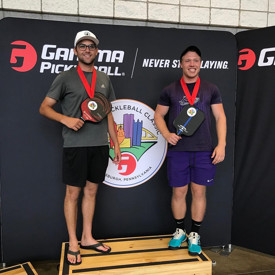 Congrats Kyle & Tim for their 4.5 Mens14 - 34 Division Bronze Medal win at the GAMMA Pickleball Classic. - Kyle played with the Easport Champion Thin Blue Line Paddle.