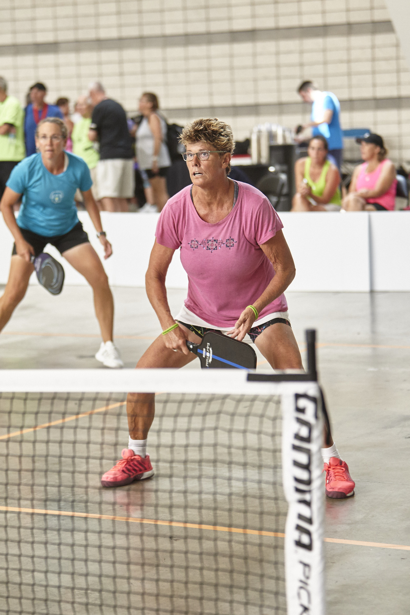 Jamie Whiting wins Silver - Jamie Whiting and Lynne Coburn won silver this weekend in the GAMMA PICKLEBALL CLASSIC in Pittsburgh, PA.