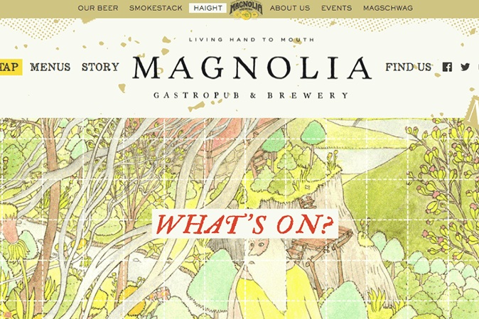 Magnolia - Designing an omni-directional, integrated brand experience for four inter-connected brands