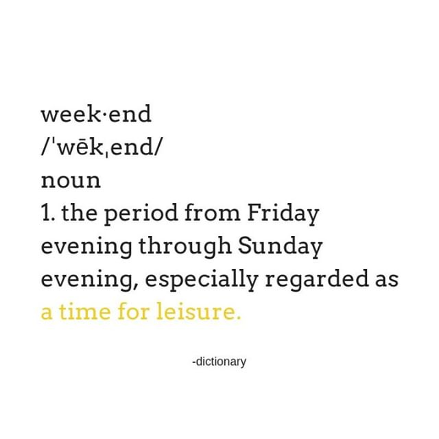 Don't forget, the meaning of the weekend is for leisure time. ✌️ What are you all up to? I hope you incorporate more calm, mindfulness, laughter, adventure and compassion this weekend. . . . . . . #weekend #weekendvibes #leisure #calm #mindfulness #laughter #adventure #compassion #friyay #highvibe #cheerstothefreakinweekend #illdrinktothat #yeg #happy #travel #relax #sun #smile #nature #grounding #recharge #selfcare #selflove #metime #family #friends #datenight #fun #goodtimes #createalifeyoulove