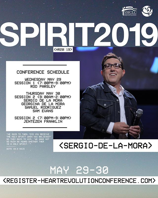 Register today for our  SPIRIT 2019 Conference on May 29-30 - heartrevolutionconference.com