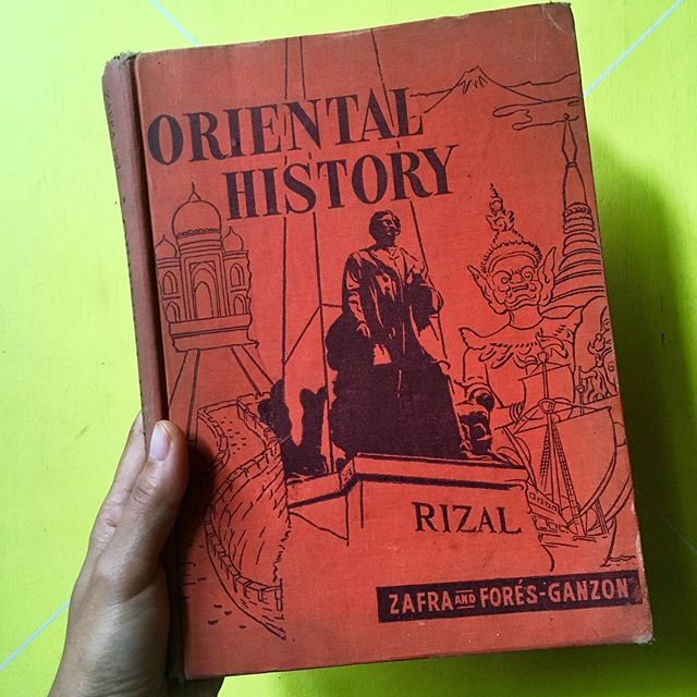 Anyone come across this book before? Oriental History by Nicolas Zafra (Prof&Head, Dept of History, UP) and Guadalupe Fore's-Gannon (Asst. Prof of History, UP), published 1952