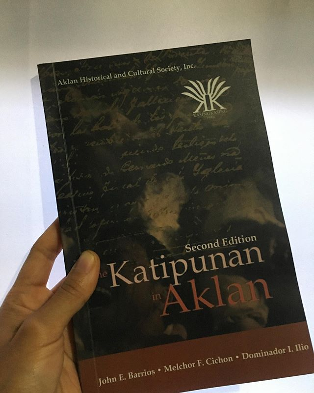 If you are in Kalibo, you can purchase your own at Cafe de Calivo. 📚 The Katipunan in Aklan by John E. Barrios, Melchor F. Cichon and Dominador I. Ilio #kasingkasingpress2019 #aklanhistoricalsociety #aklanhistoricalandculturalsociety