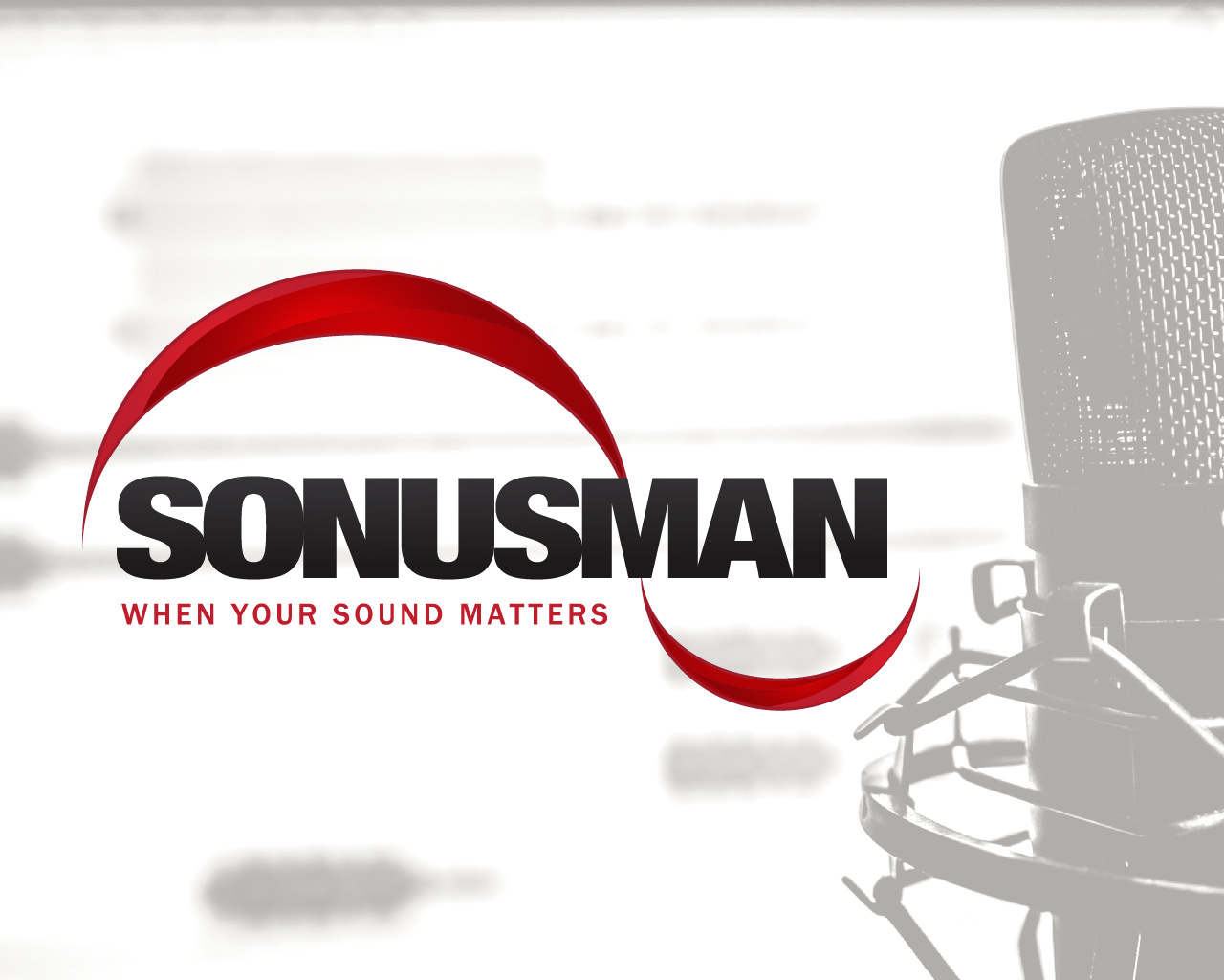 New Sonusman Logo Redesign by Patey Designs