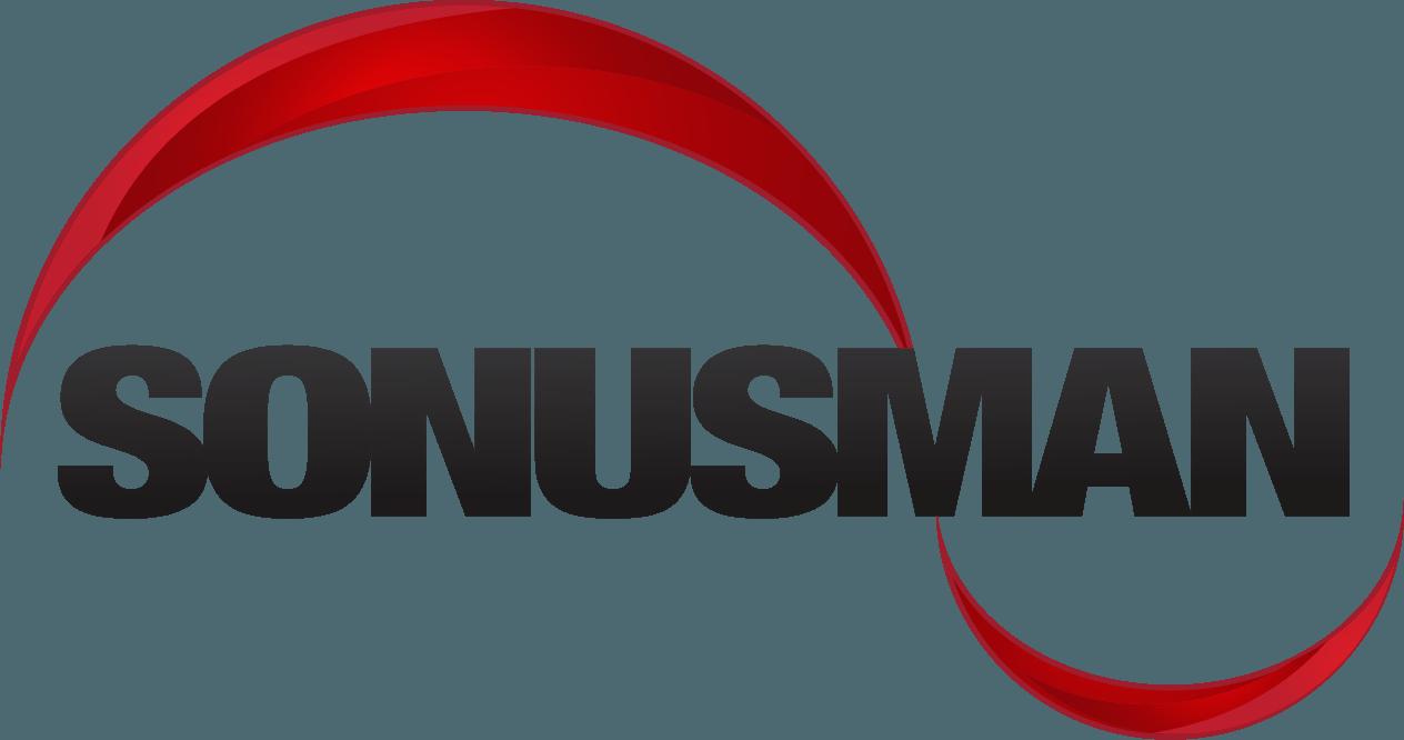 Sonusman logo without tagline.