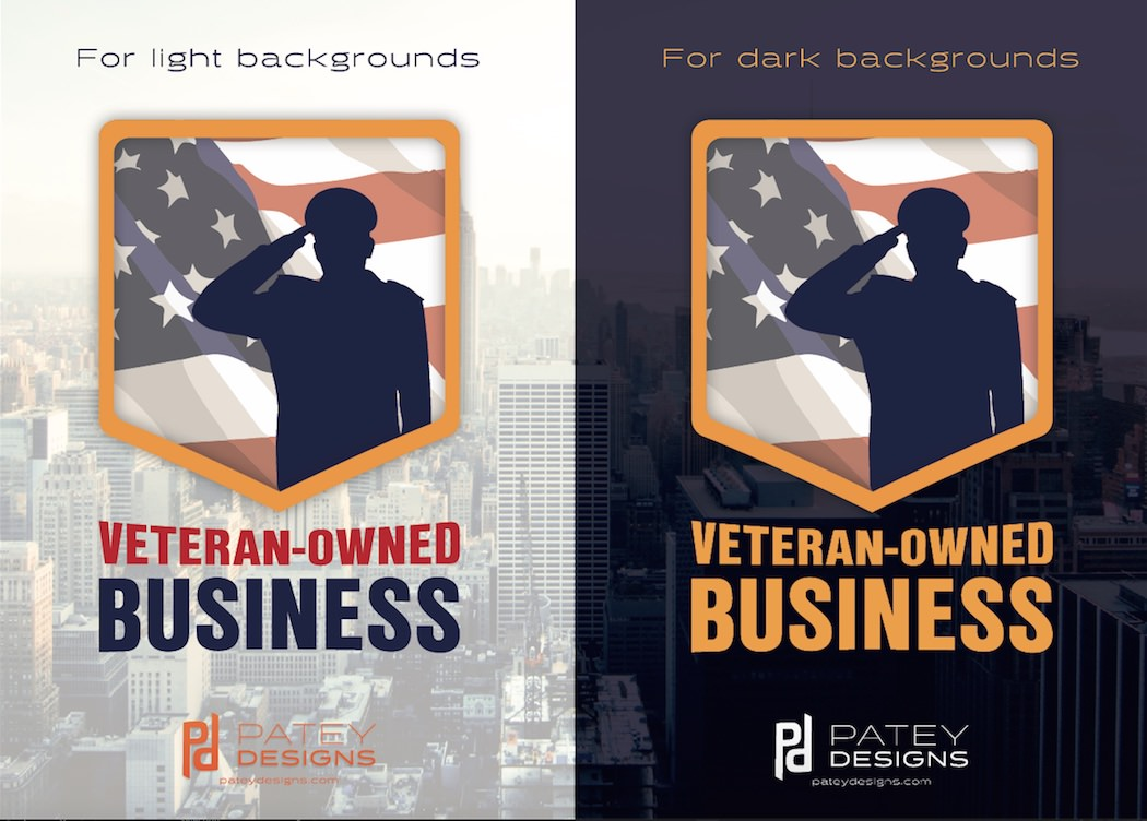 We hope you can find a great use for these free vector badges and honor all our veterans do/have done for us.