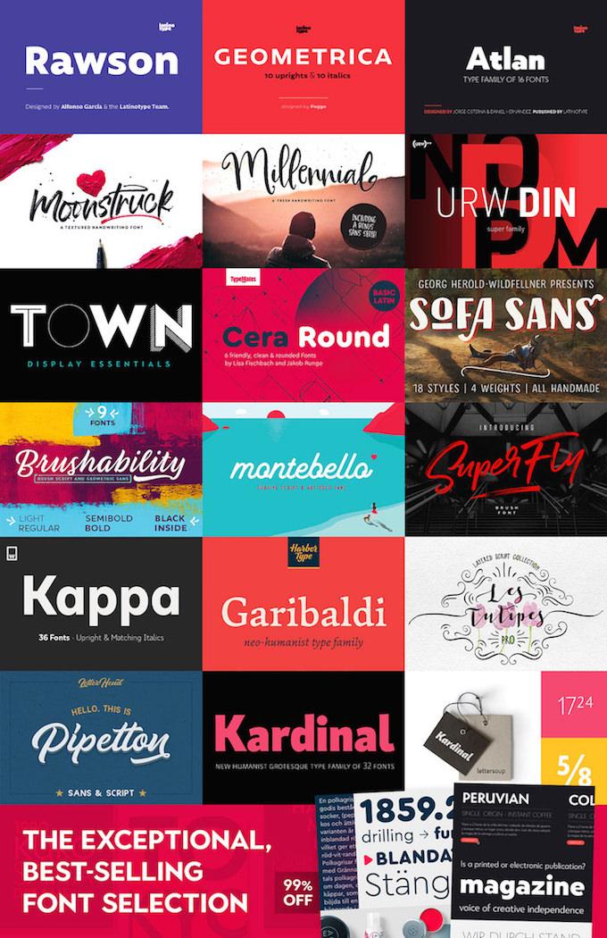 Design Cuts Font Bundle Deal June