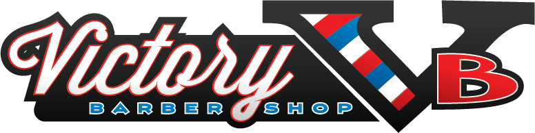 Full custom victory barbershop logo