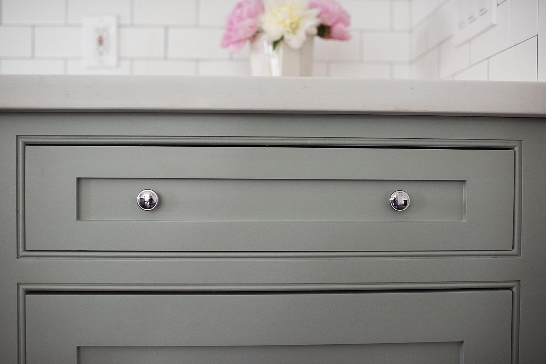 Pretty Cabinet Details.