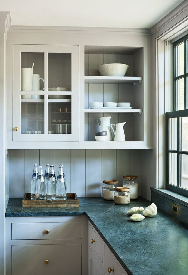 Soapstone in a kitchen by Rafe Churchill