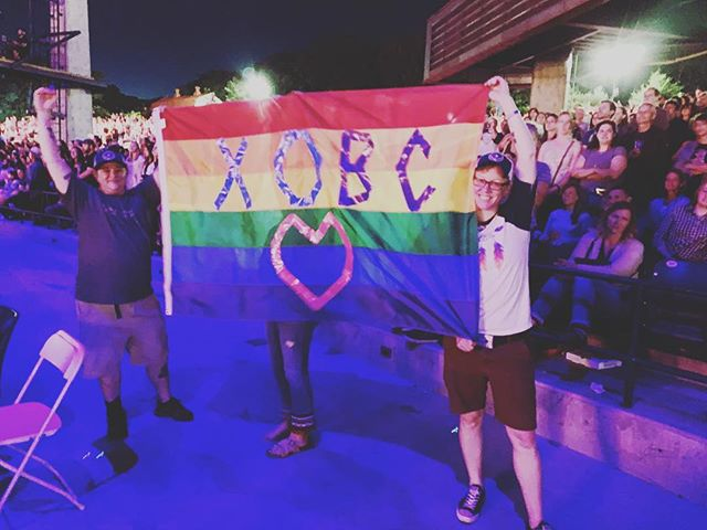 What a magical night in Columbia MD @merriweatherpp Happy pride! 🏳️‍🌈🤘 📸@lmunselle55