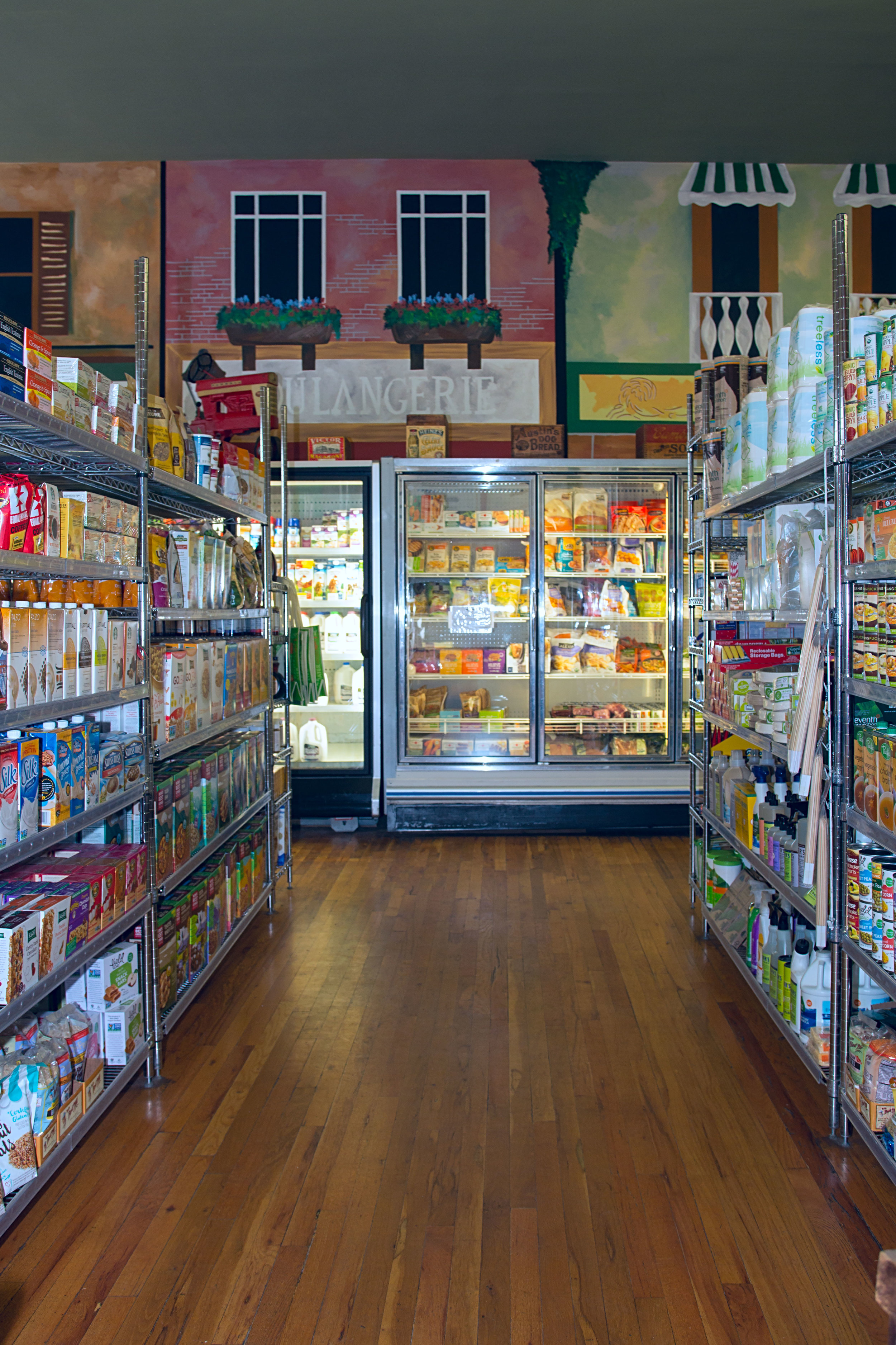 Groceries and sundries