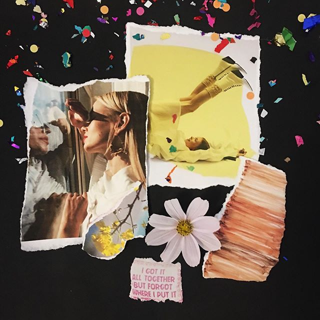 🌼 Listens to Stevie Nicks & T Swift, lives on the outskirts, buys her dresses based on comfort (and pockets) and wouldn't dare turn down a glass of bubbly. 🍾  @caseycrowetaylor's final mood board... she's a fun one! • rebrand coming soon •