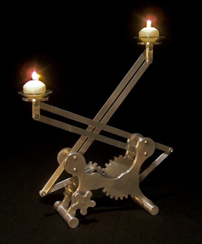 Geared Candleholder #2 2009