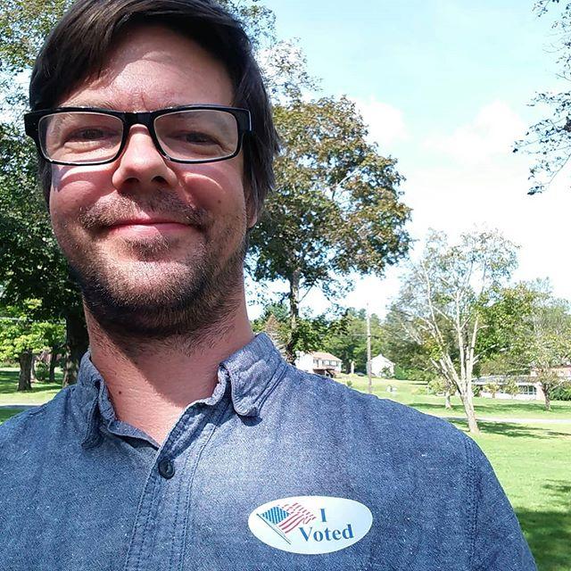 Let's do this. #vote #gotv