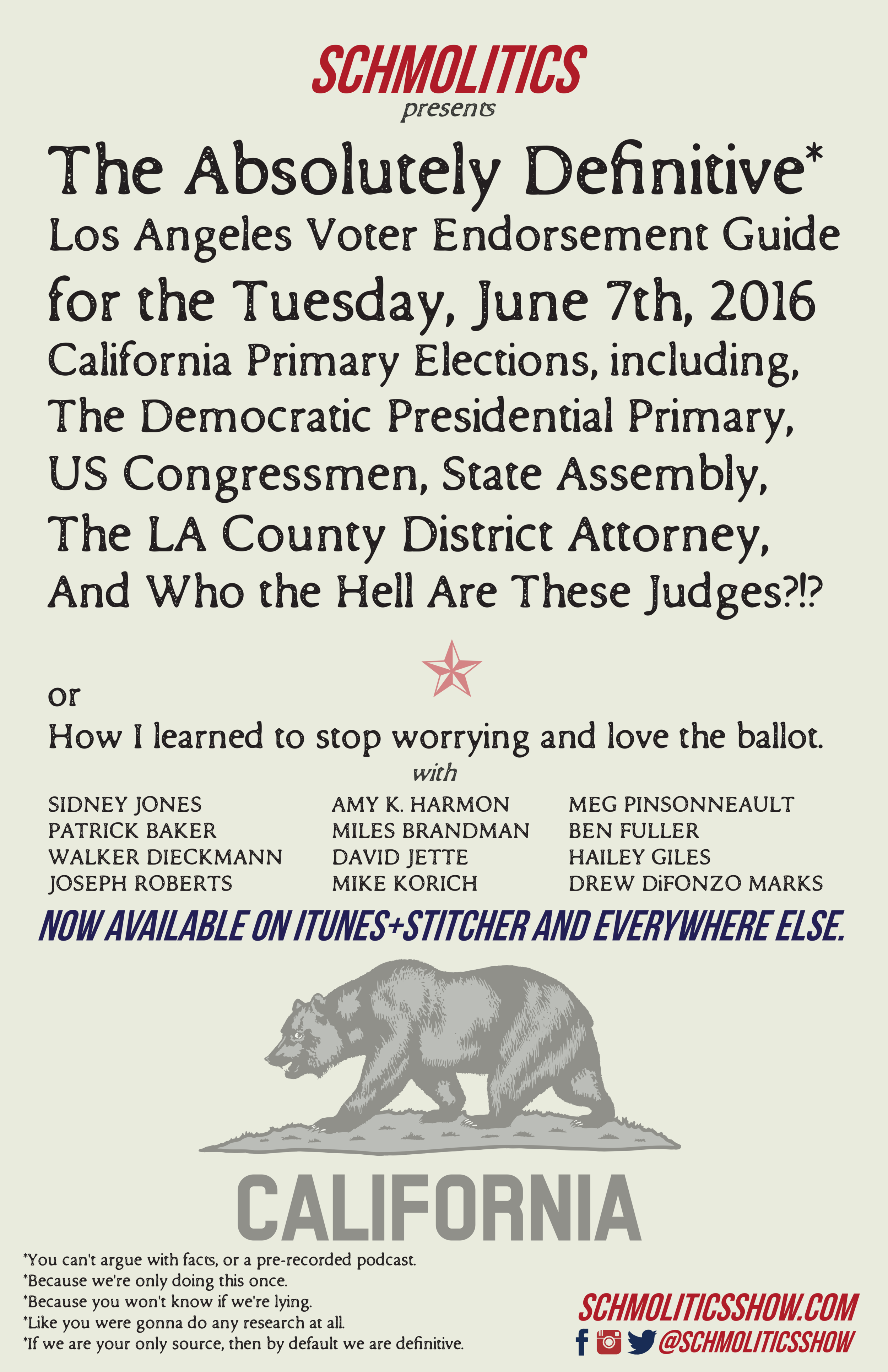 Schmolitics-California-Presidential-Primary-Voter-Endorsement-Guide