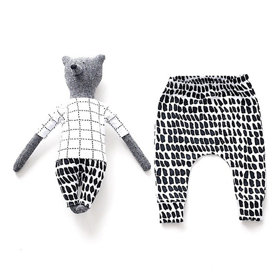 Rocky-Racoon-Apparel-on-Etsy-Matching-Toy-Bear-and-Baby-Organic-Cotton-Harems-in-Strokes-Print-58-.jpg