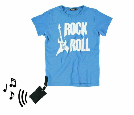 yporque Rock + Roll Tee with Sound, $