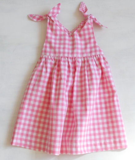 Robe of Feathers Rabbit Dress in Pink Check, $ (ON SALE!)