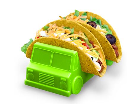 Taco Truck Holder Tray, $15- (blueribbongeneralstore.com)