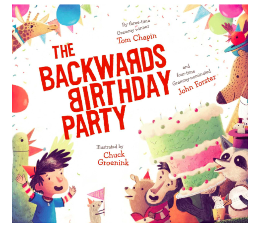 The Backwards Birthday Party, $15.84-