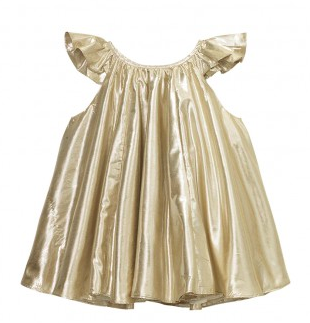 Velveteen Isabella Dress for Little Girls