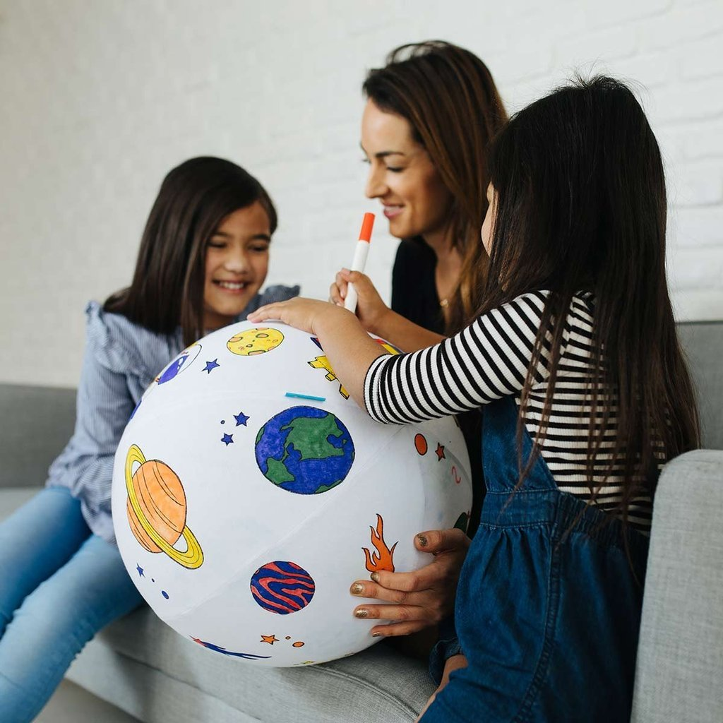 Seedling Color the Galaxy Inflatable Ball, $19.99-.jpg