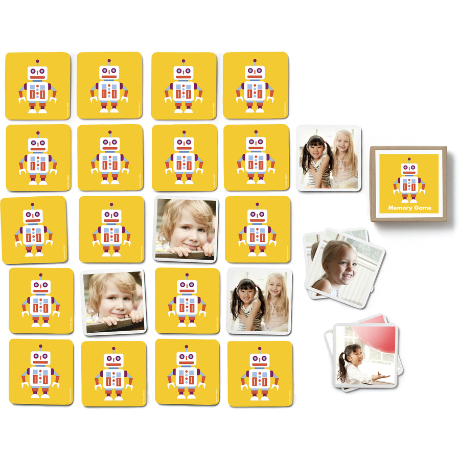 Pinhole Press Personalized Robot Photo Memory Game, $29.99-.jpg