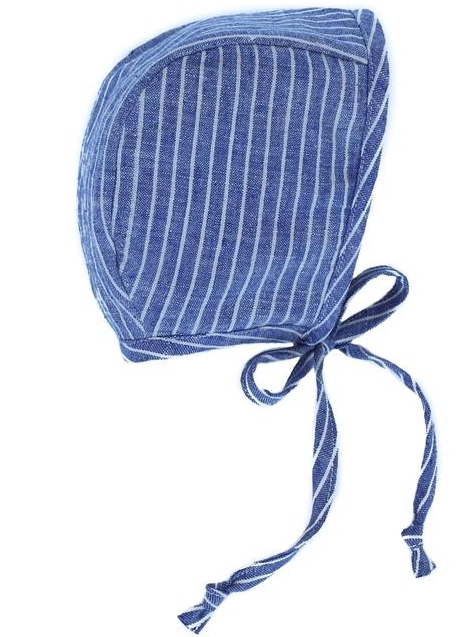 Briar Handmade Oxford Stripe Bonnet, $32-.jpg