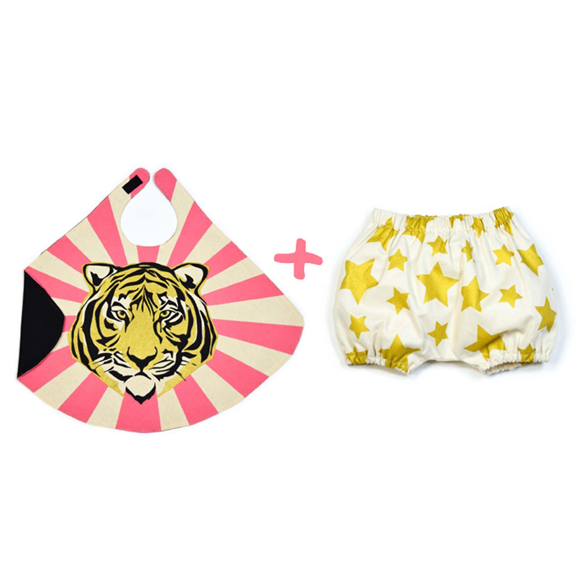 Love Lane Pink Baby Tiger Cape and Bloomer Set, $55-.jpg