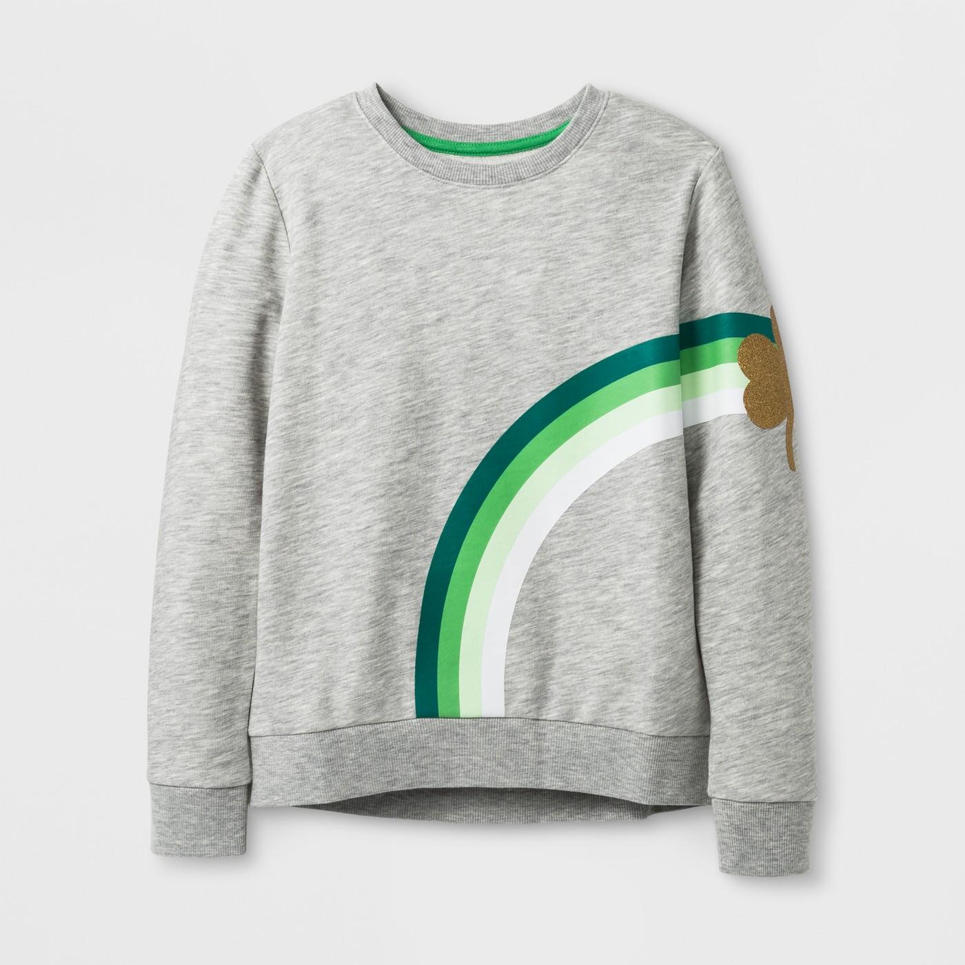 Girls St. Patrick's Day Sweatshirt $12.99-.jpeg